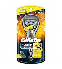 Gillette Fusion ProShield Men's Razor with Flexball Handle and 2 Razor Blade Refills, Mens Razors